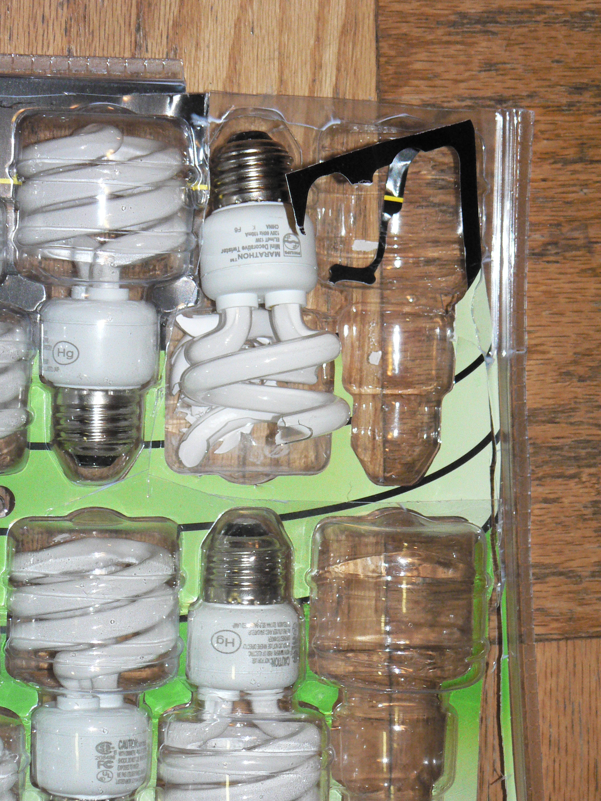 broken cfls a scary halloween story my plastic life in the meantime continuing the global warming energy conservation theme this week and needing to provide a little halloween scare i thought i d