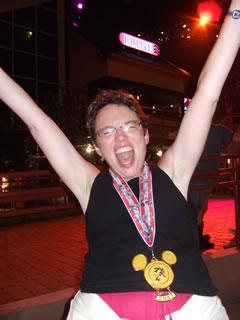 Partying after Disney Marathon