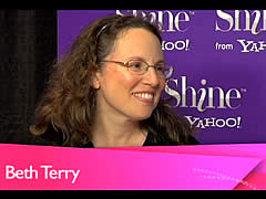 Yahoo Shine interview with Beth Terry