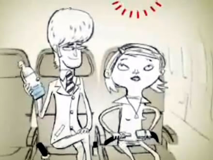 Virgin-America-safety-video-bottled-water