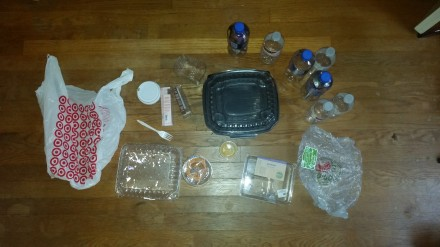 Plastic Challenge: Lindsey Peck, Week 1