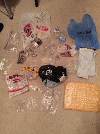 Plastic Challenge: Drake Miller, Week 1