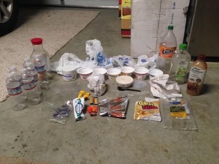 Plastic Challenge: Maryam Majidi, Week 1