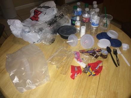 Plastic Challenge: Cristal Raygoza, Week 1