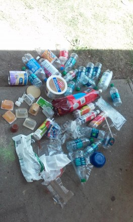 Plastic Challenge: Teyonna Townsel, Week 1