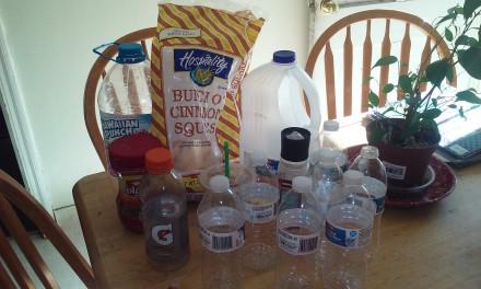 Plastic Challenge: Nichole, Week 1