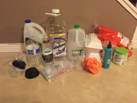 Plastic Challenge: Nicolette Vera, Week 1
