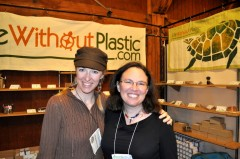 Chantal Plamondon from Life Without Plastic with Beth Terry