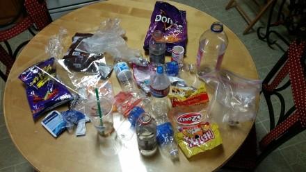 Plastic Challenge: Bernardo Aguilar, Week 1