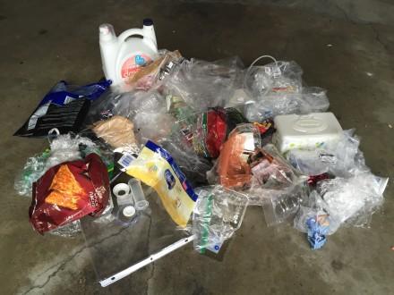 Plastic Challenge: Eduardo Perez, Week 1