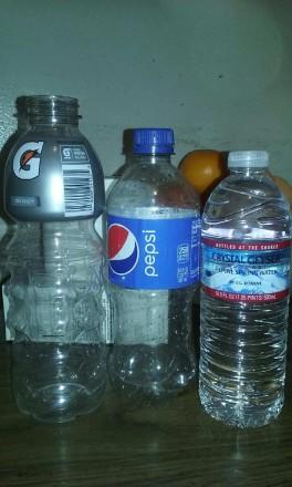 Plastic Challenge: Marisol, Week 1
