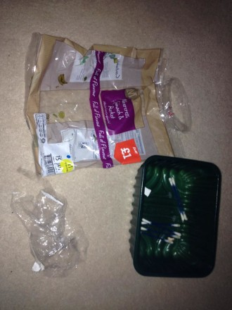 Plastic Challenge: Ellie Tideswell, Week 1