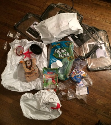 Plastic Challenge: Aimee Bowe, Week 1