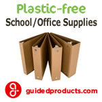 Plastic-Free School & Office Supplies from GuidedProducts.com
