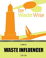 Be Waste Wise Badge