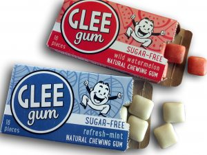 Glee plastic-free chewing gum