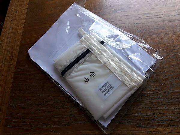 Guppy Friend plastic packaging