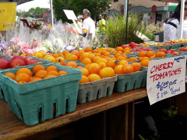 Takoma Park Farmers Market plastic-free containers