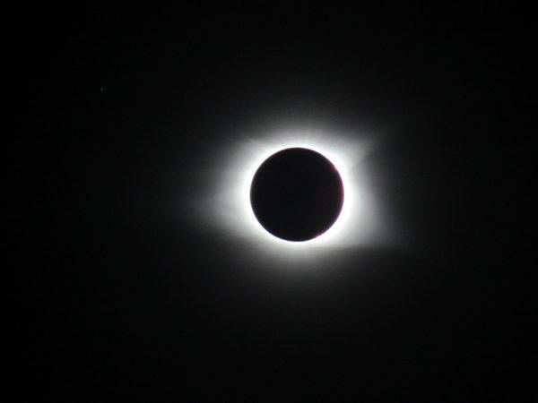 Total solar elipse 2017 Andrews NC