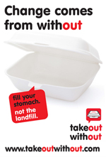 Take Out Without banner