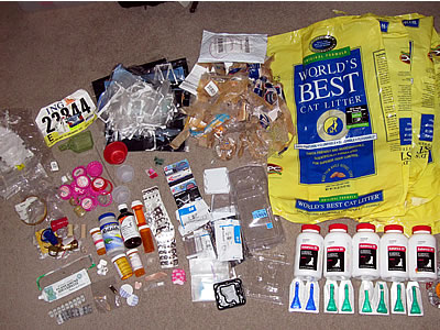 Beth Terry's 2009 tally of plastic waste