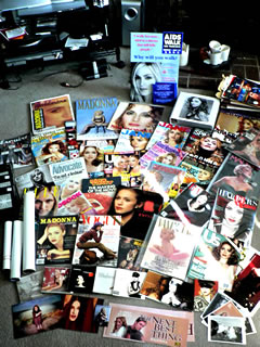 Beth Terry's Madonna magazine collection