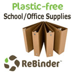 Plastic-Free School & Office Supplies from ReBinder.com