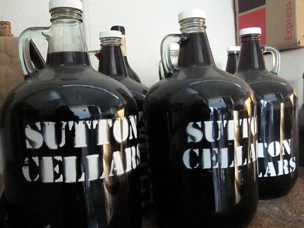 Sutton Cellars table wine