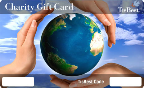 Charitable gift card
