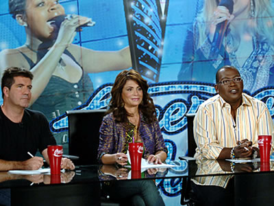 American Idol red Coke cups