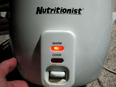 broken rice cooker