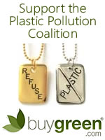buyGreen Plastic Pollution Coalition ad