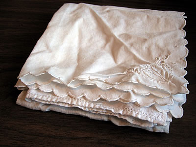 cloth handkerchiefs