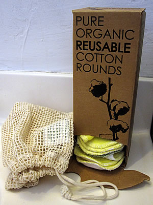 Better for Grownups organic cotton facial rounds