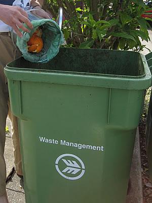 Dog Waste Disposal Can