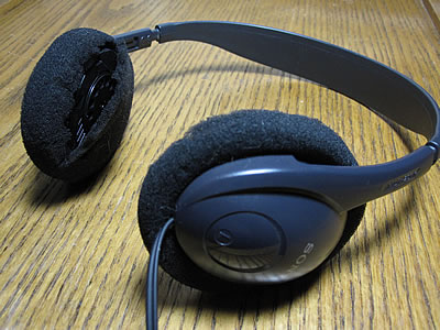 Earbuds covers foam - headphone muff covers