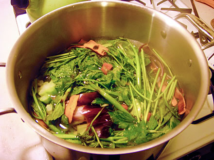 Homemade Broth Recipe from the Plastic-free Chef