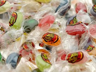 Individually-wrapped jelly beans