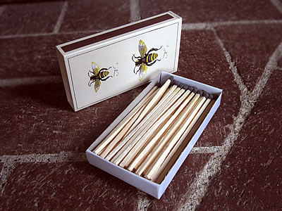 wooden matches