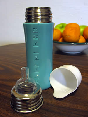 Pura Stainless baby bottle
