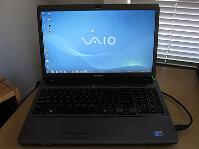 Sony Vaio laptop computer