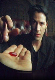 Matrix take the red pill
