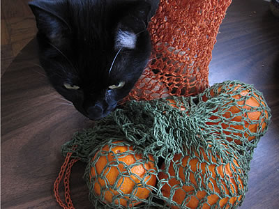 Art of Zen Crochet produce bags