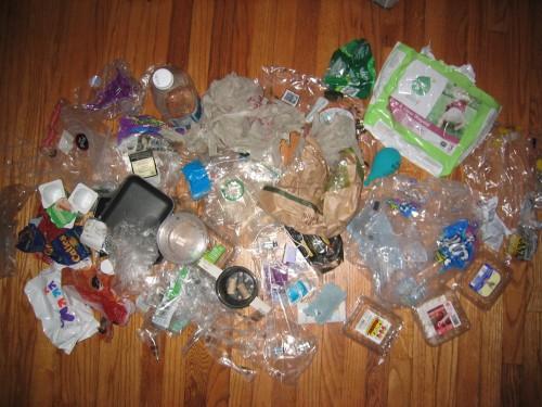 Plastic Challenge: Rachael M R, Week 1