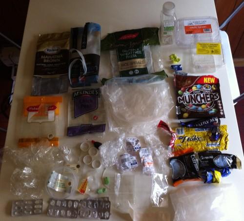 Plastic Challenge: Tanya Thorpe, Month 1