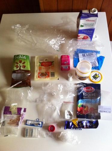 Plastic Challenge: Tanya Thorpe, Week 5