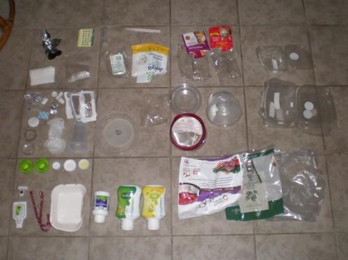 Plastic Challenge: Pheas, Week 1
