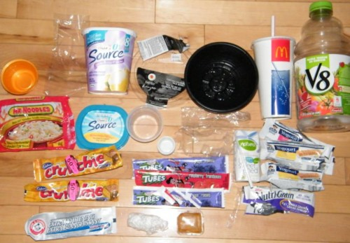 Plastic Challenge Week 1