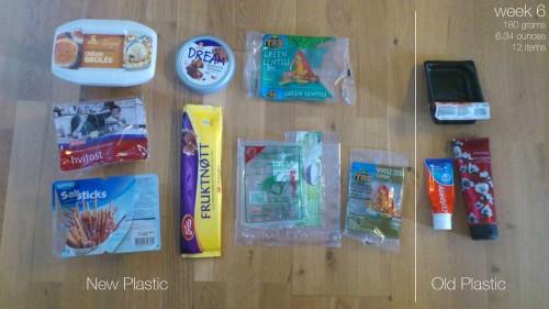 Plastic Challenge: Fonda LaShay, Week 6