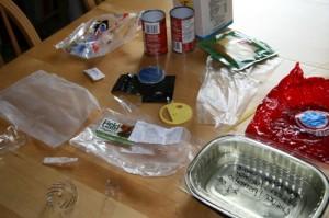 plastic garbage - week4
